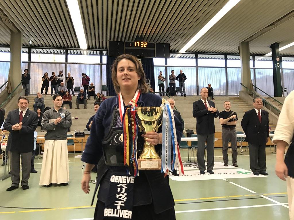 Laure Championne Suisse