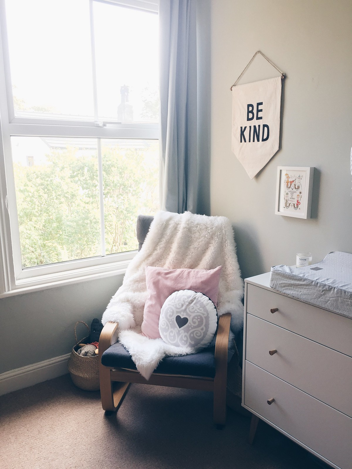 ikea poang nursing chair