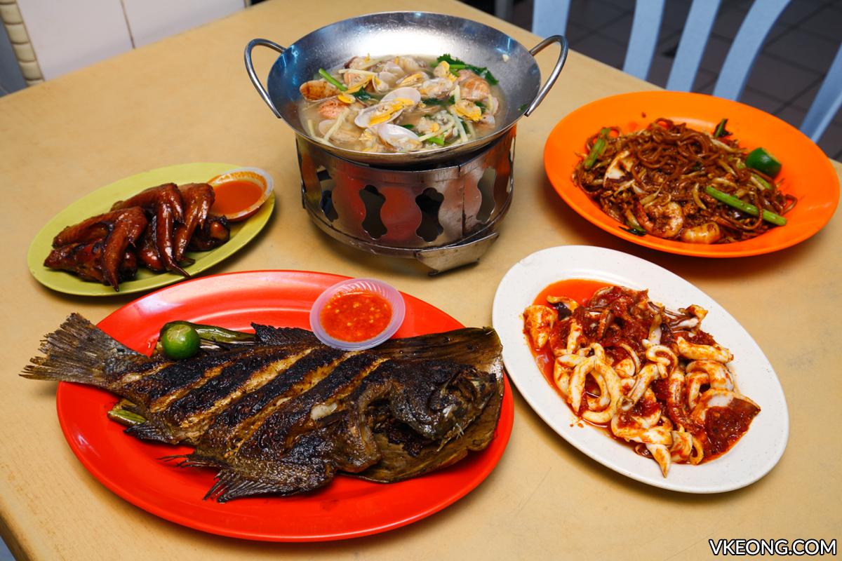 Sai Woo Restaurant Dinner Jalan Alor