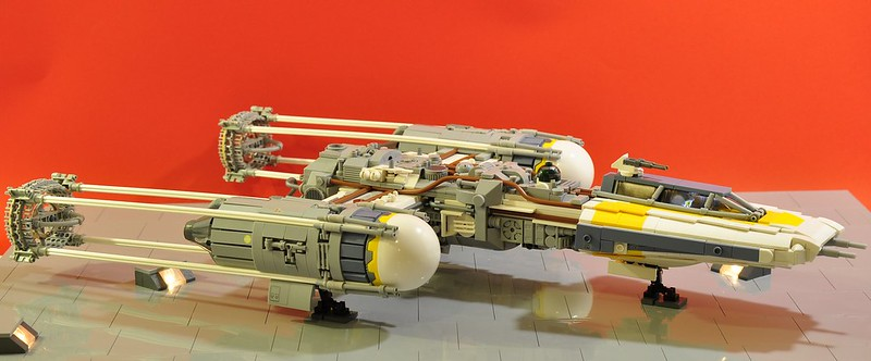 Yet another Y-wing, by dmaclego, on Eurobricks