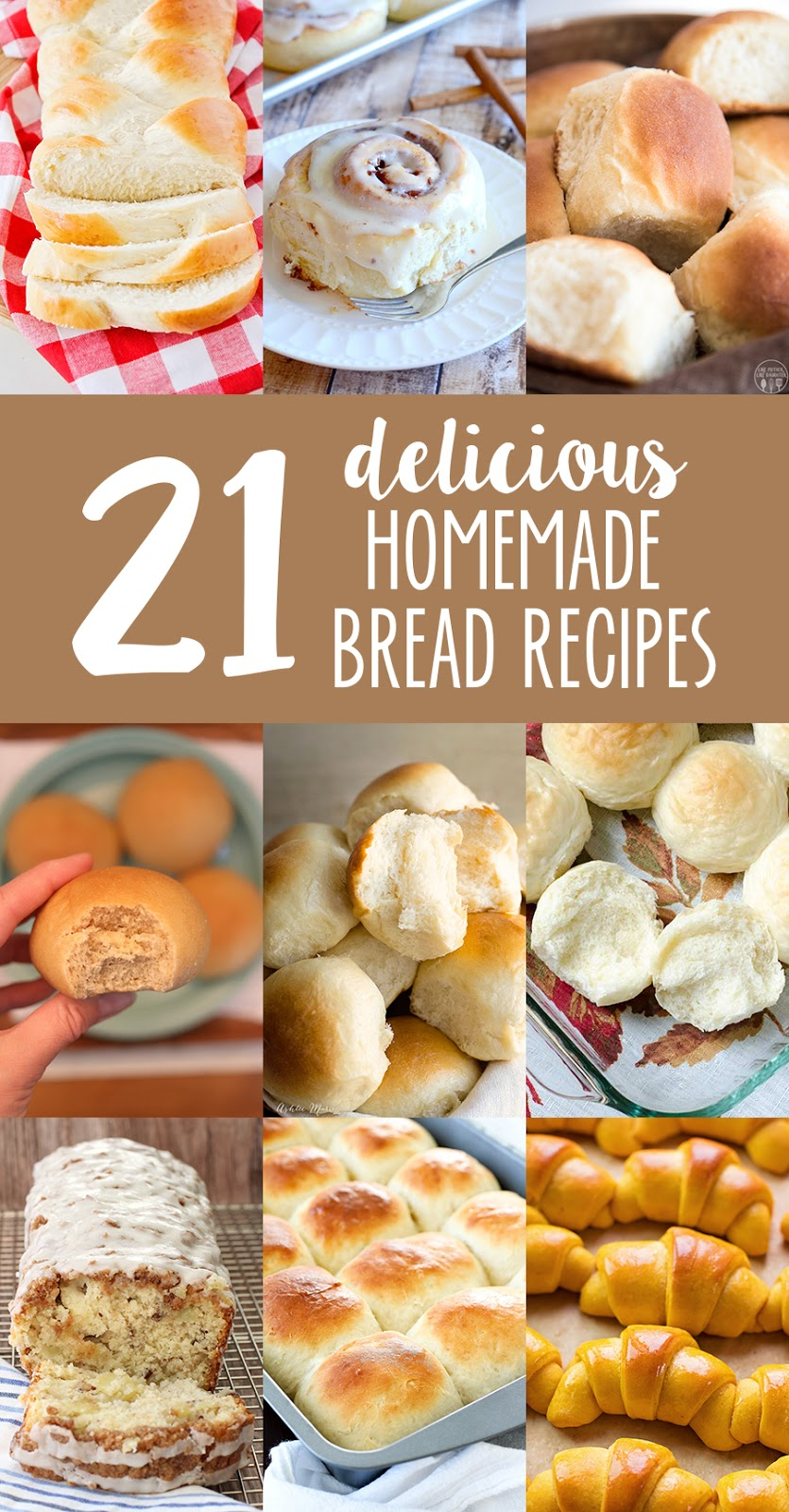 21 homemade bread recipes