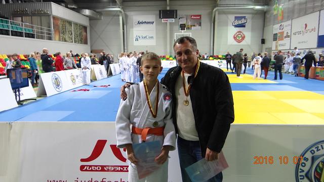 Vaclovas Pocius su treneriu Antanu Kastecku