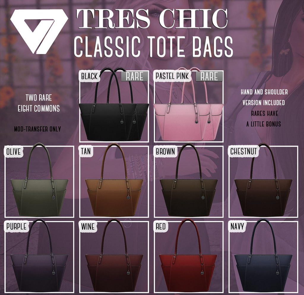 Chic Tote Bag Gacha (for Tres Chic)