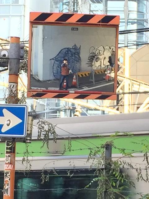 iphone photo 893: Sarugakubashi bridge, Shibuya Tokyo, 13 Nov 2016