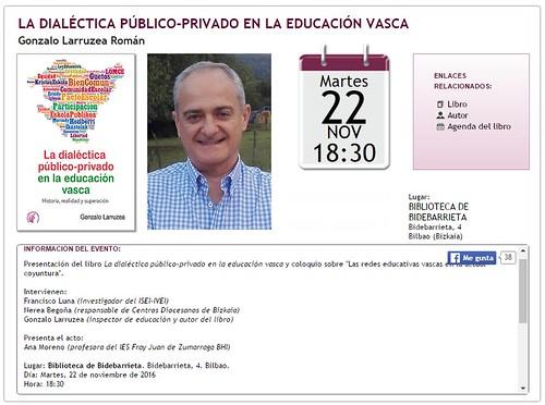 La dialéctica público-privado en la educación vasca