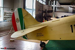 MM11341 110-12 - - Italian Air Force - IMAM Ro.37 bis Lince - Italian Air Force Museum Vigna di Valle, Italy - 160614 - Steven Gray - IMG_0111_HDR