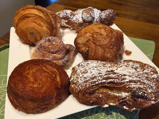 One each (sans Croissant)