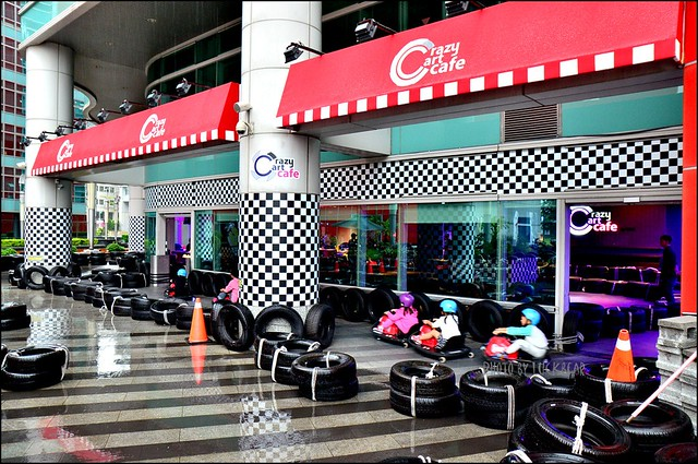 Crazy cart cafe內湖甩尾卡丁車002