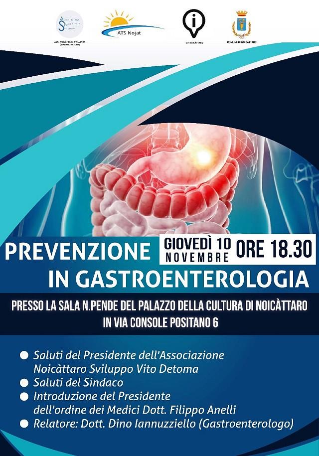 Noicattaro. Convegno gastroenterologia intero