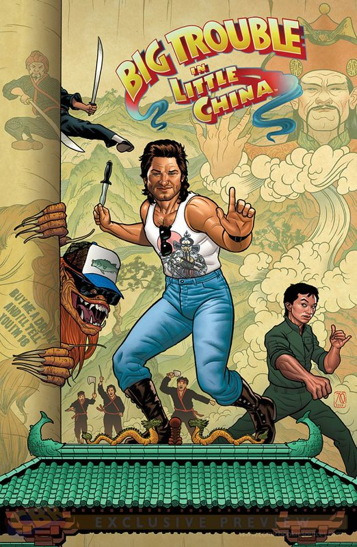 Big Trouble in Little China - Comics - 9