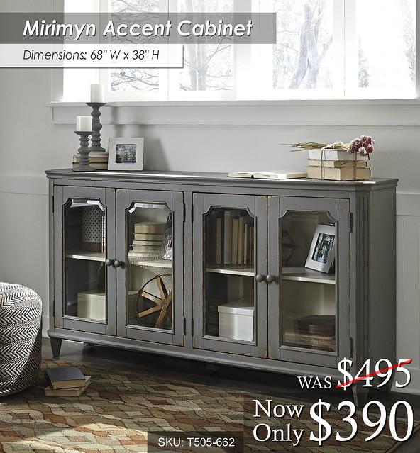 Mirimyn Accent Cabinet T505-662
