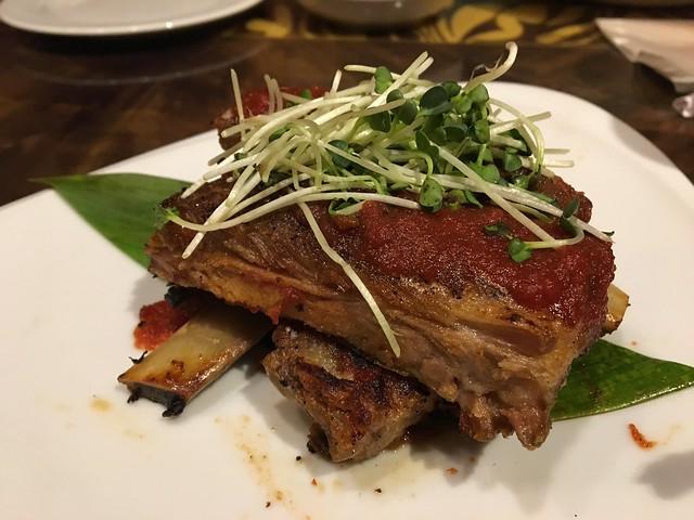 Hawaiian brown sugar bbq pork ribs - Tropics Bar & Grill