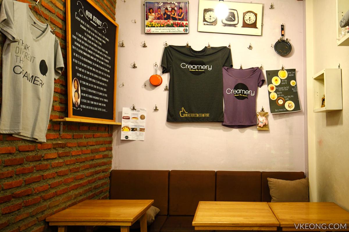 Creamery Boutique Ice Cream Bangkok Cafe