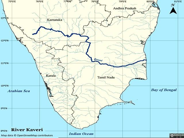 कावेरी नदी बेसिन
