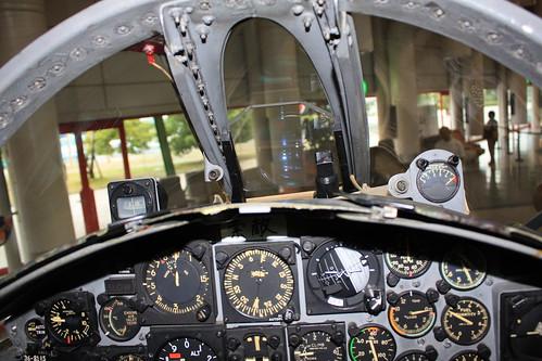 F-104J戦闘機  コックピット IMG_0115
