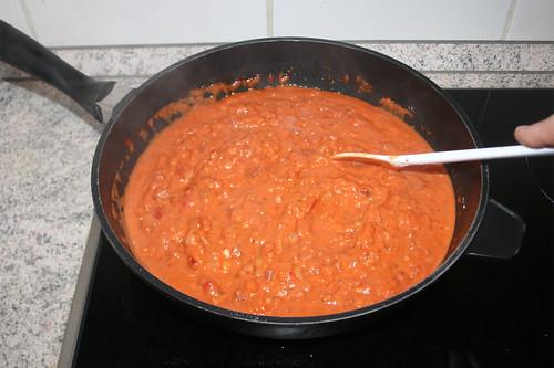 34 - Sauce köcheln lassen / Let sauce simmer