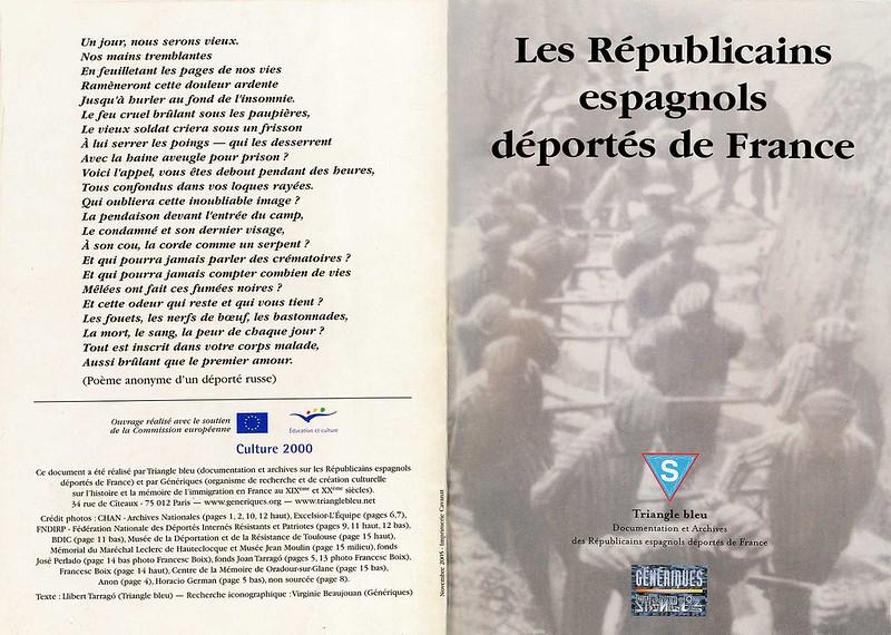 Les Républicains espagnols déportés de France 1