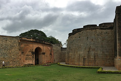 Bangalore - Fort walls