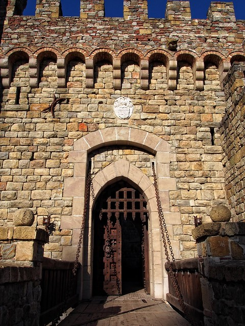Castello Di Amorosa Drawbridge