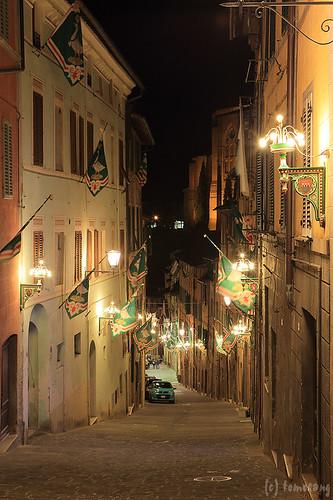 Siena at Night