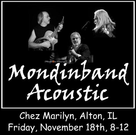 Mondinband Acoustic 11-18-16