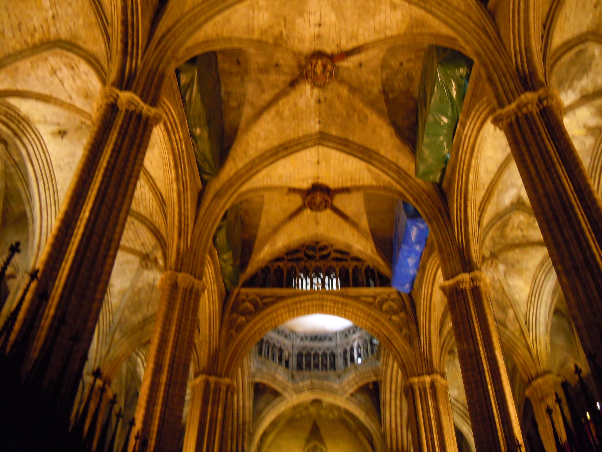 Se or del biombo la catedral de barcelona for Catedral de barcelona interior