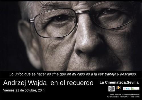 Wajda en el recuerdo