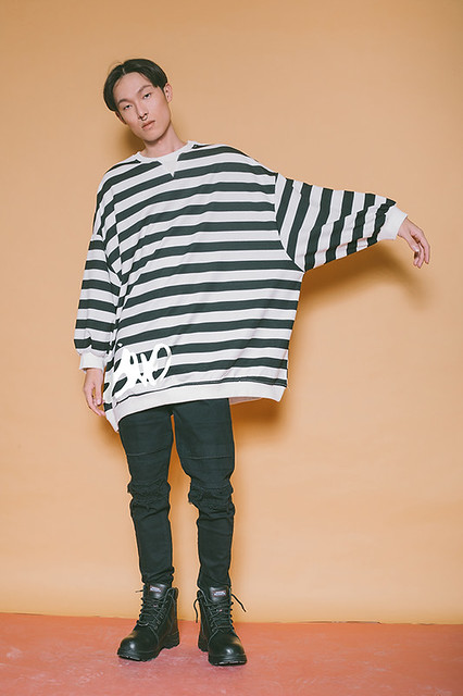 Mossimo X Zalora Fashion Mens Wear Duane Bacon Blogger Long Tee