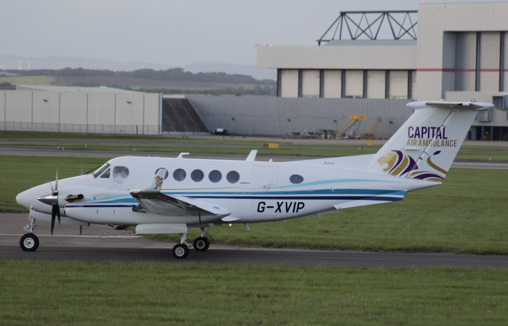 Beech 200 Super King Air G-XVIP 16OCT16