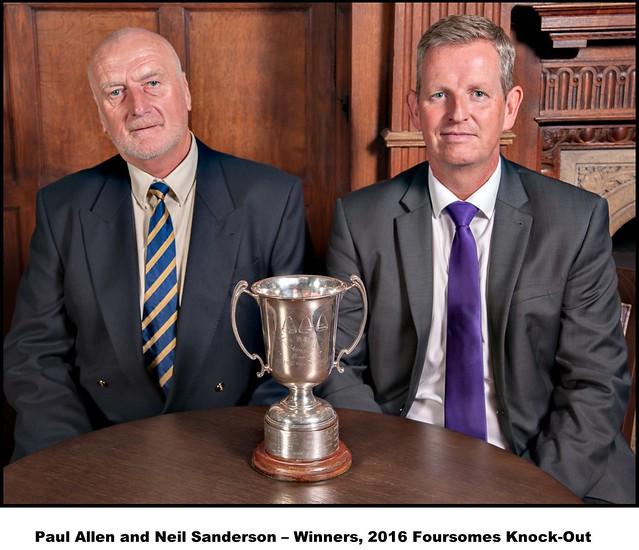 BFGC 2016 Trophy Winners