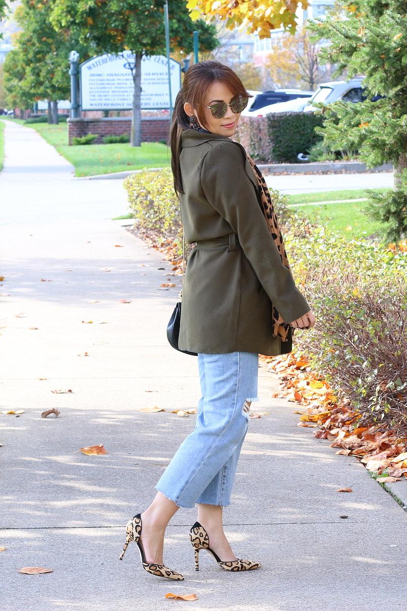 olive-green-coat-kick-flare-jeans-5