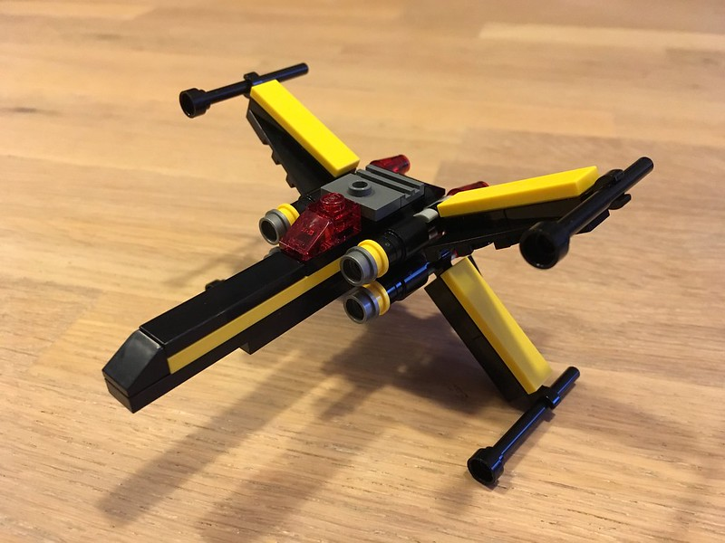 Blacktron X-wing Fighter