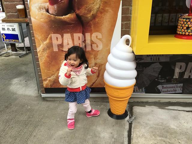 捕獲野生的霜淇淋招牌