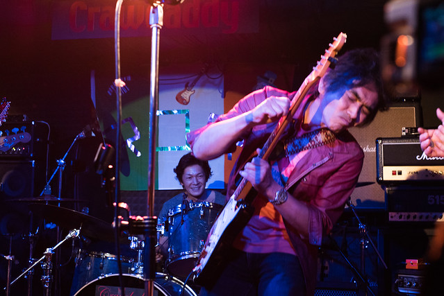 Rory Gallagher Tribute Festival - jam session at Crawdaddy Club, Tokyo, 22 Oct 2016 -00562
