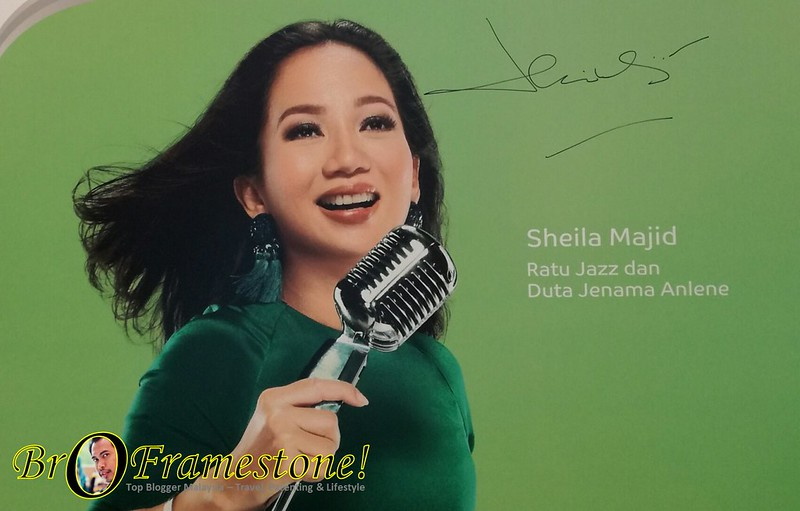 Anlene 'Move As Young As You Feel Inside' bersama Shiela Majid