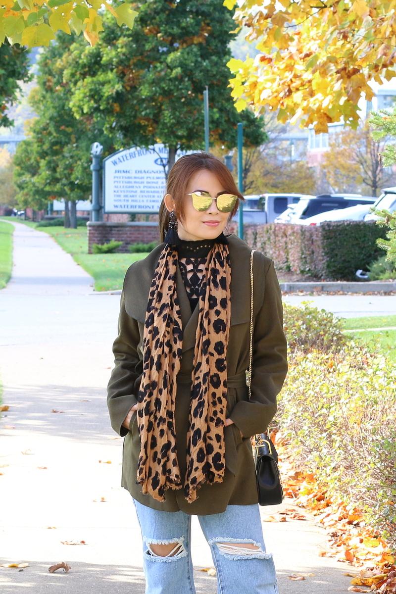 olive-green-coat-leopard-scarf-2