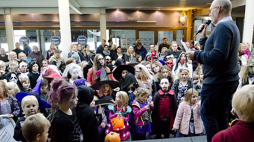 Halloween i Ikast 28.10.16