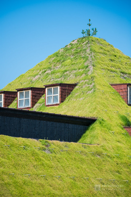 Roof of La Collina Omihachiman (ラ・コリーナ近江八幡)