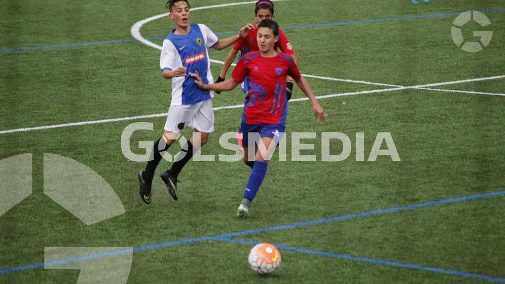 "Liga autonomica Infantil C.F. Torre Levante ""A"" 0 - 2 Hércules de Alicante CF ""A"""