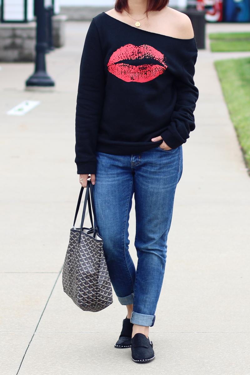 kiss-lips-sweater-rosewholesale-jeans-studded-flats-goyard-2