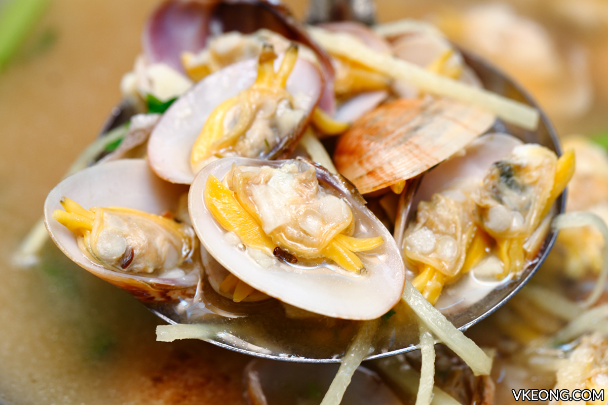 Fresh Lala Clams in Soup