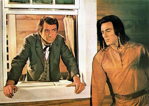 Armin Mueller-Stahl and Gojko Mitic in Tödlicher Irrtum (1970)