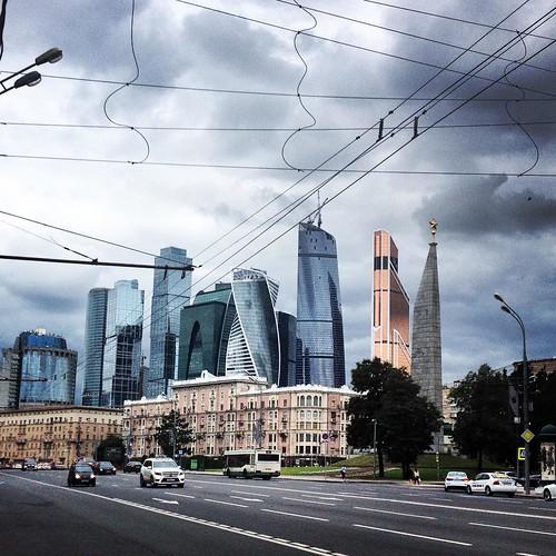 Ограничение движения в центре столицы.