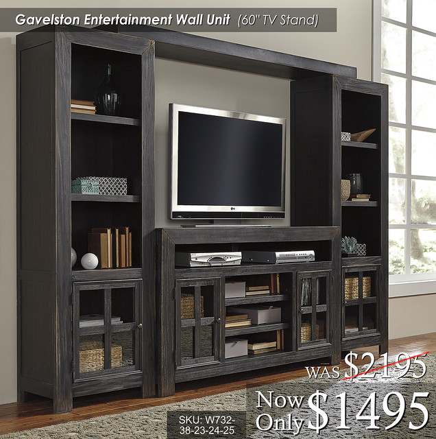Gavelston Entertainment Wall W732-38-23-24-25