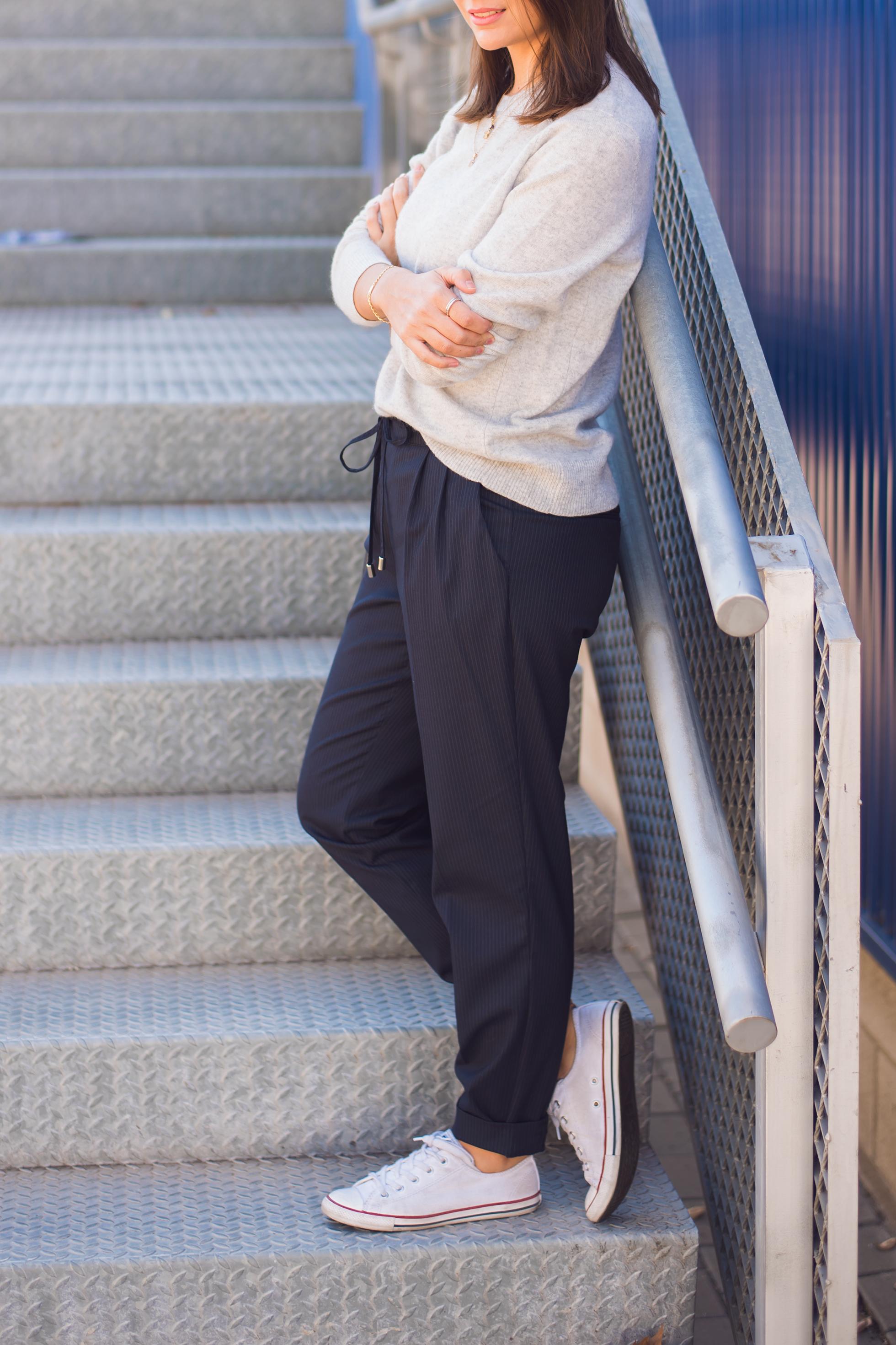 look casual con pantalon masculino