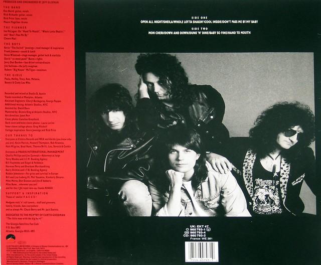 "Georgia Satellites - Open All Night 12"" vinyl LP"