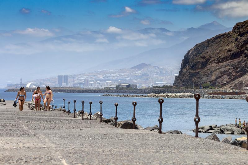 Playa de Las Teresitas & Teide / San Andres, Tenerife
