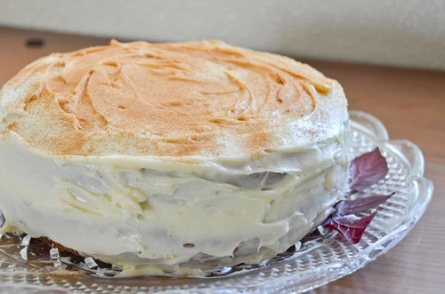 Carrot Cake With Maple Cream Cheese Frosting Smitten Kitchen