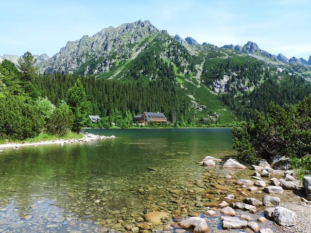 Popradské pleso, High Tatras, Slovakia