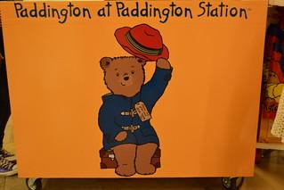 Paddingtonにて